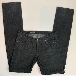 AG Casablanca Washed Black Slim Skinny Jeans